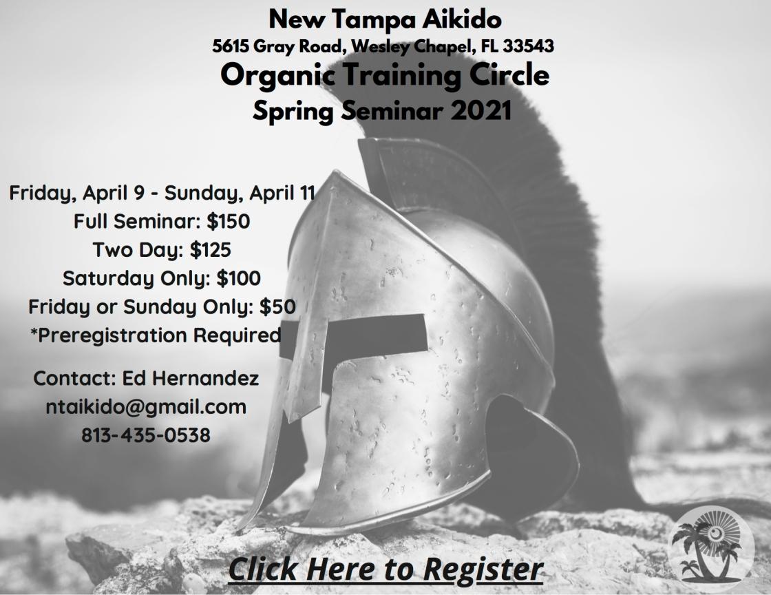 New Tampa Aikido Spring Seminar 2021-3